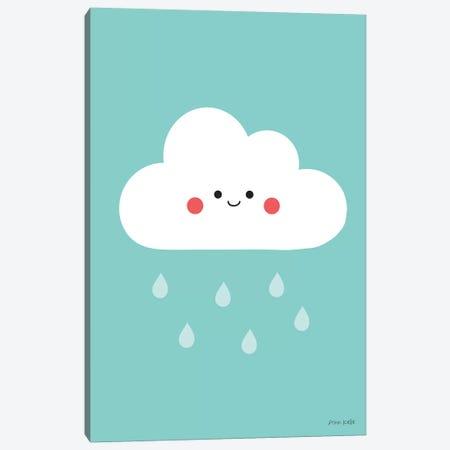 Happy Cloud II Canvas Print #NKL31} by Ann Kelle Canvas Artwork