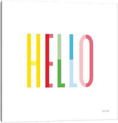 Hello Canvas Art Print