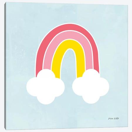 Her Rainbow Canvas Print #NKL34} by Ann Kelle Canvas Print