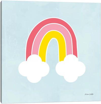Her Rainbow Canvas Art Print