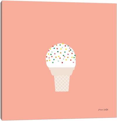 Ice Cream Cone I Canvas Art Print