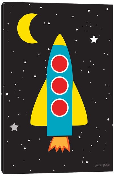 Blast Off Canvas Art Print