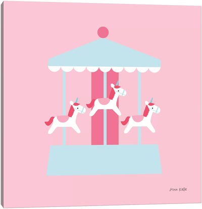 Merry Go Round Canvas Art Print