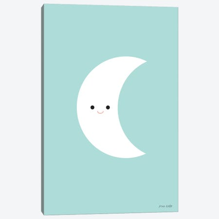 Moon Canvas Print #NKL51} by Ann Kelle Canvas Art