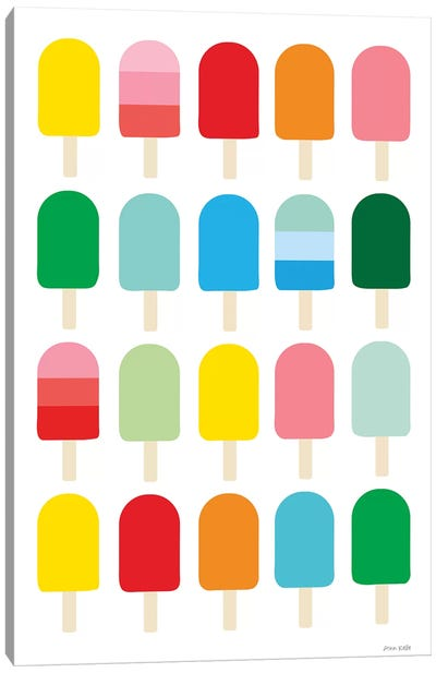 Popcycle Fun Canvas Art Print