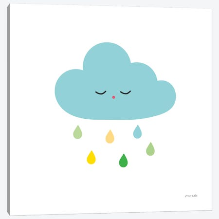 Sleepy Cloud I Canvas Print #NKL69} by Ann Kelle Canvas Art Print