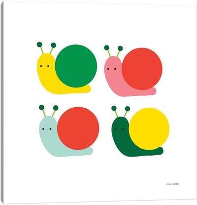 Snails Four Canvas Art Print