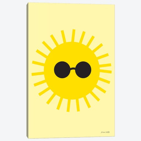 Sunny 3-Piece Canvas #NKL77} by Ann Kelle Art Print