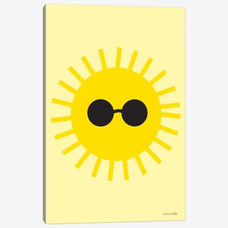 Sunny Canvas Print #NKL77} by Ann Kelle Art Print