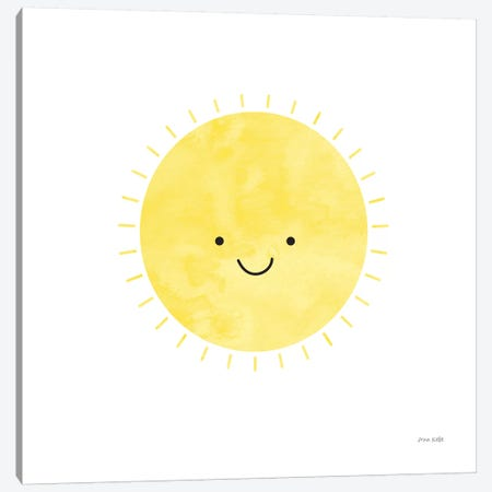Sunny Days Canvas Print #NKL78} by Ann Kelle Canvas Artwork