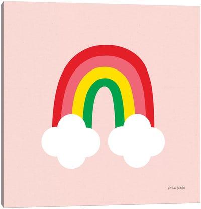 Bright Rainbow II Canvas Art Print