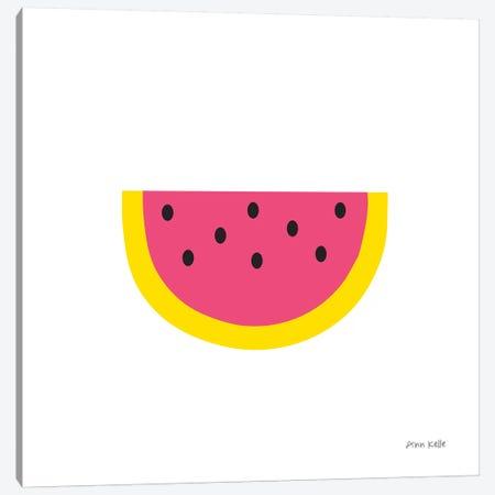 Watermelon Canvas Print #NKL86} by Ann Kelle Canvas Wall Art