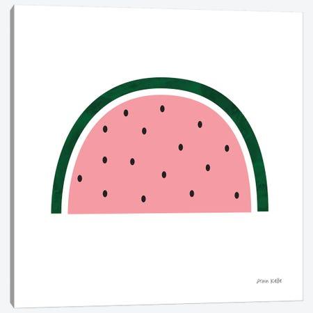 Watermelon Canvas Print #NKL87} by Ann Kelle Canvas Wall Art