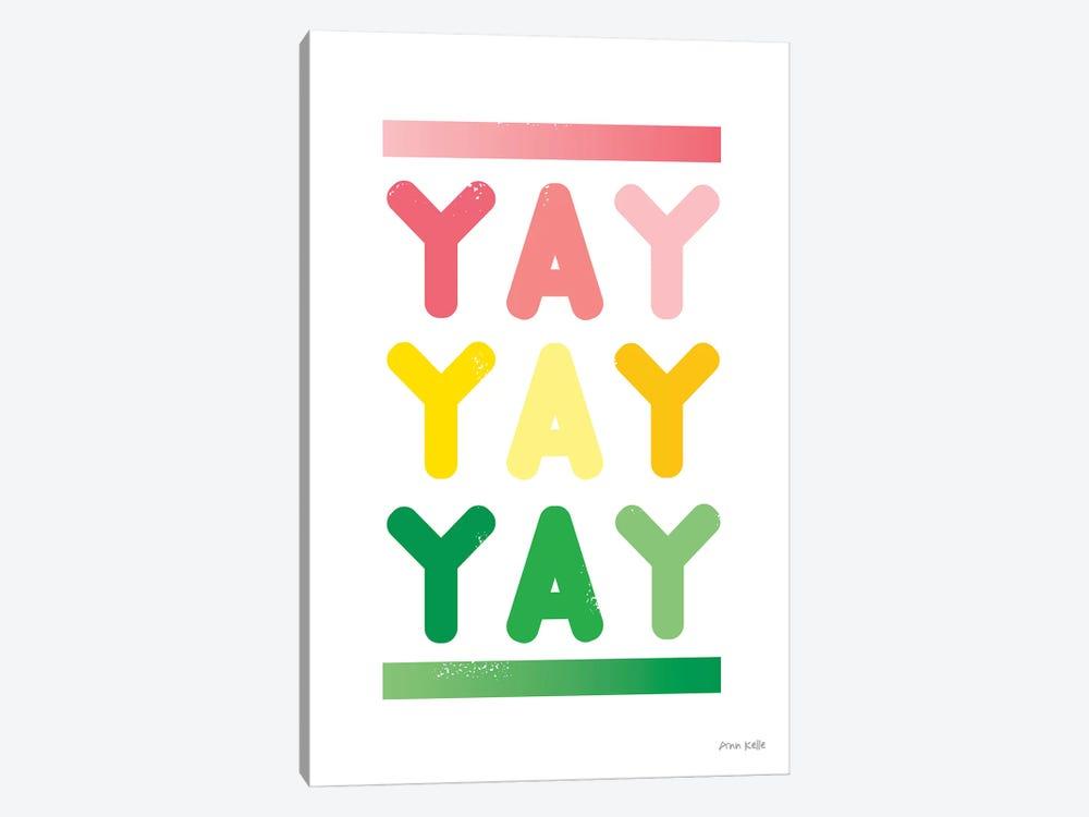 Yay by Ann Kelle 1-piece Art Print