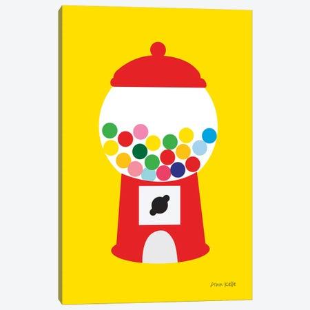 Gumball Machine Canvas Print #NKL94} by Ann Kelle Art Print