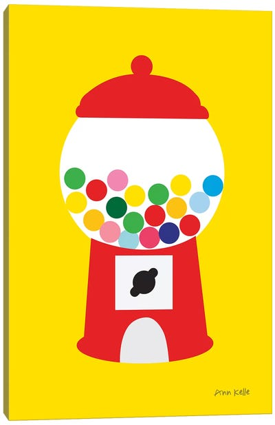 Gumball Machine Canvas Art Print