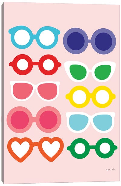 Sunglasses for All Canvas Art Print