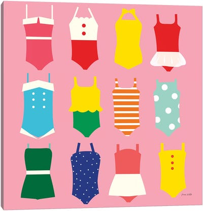Bathing Suits Galore Canvas Art Print