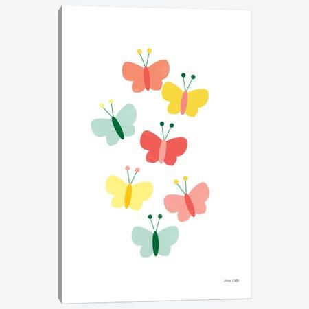 Butterfly Friends Canvas Print #NKL9} by Ann Kelle Art Print