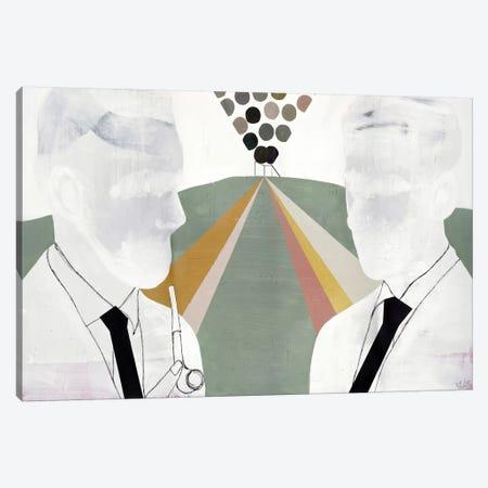 The Literates Canvas Print #NKO10} by Nicolai Kubel Olesen Canvas Art Print