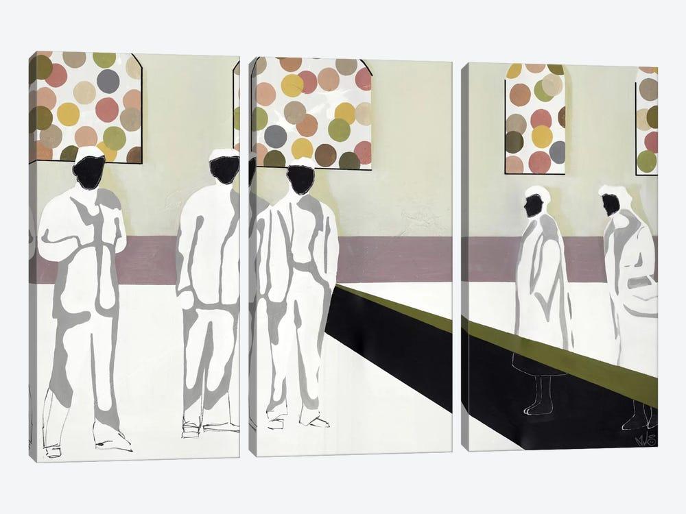 The Market by Nicolai Kubel Olesen 3-piece Canvas Artwork