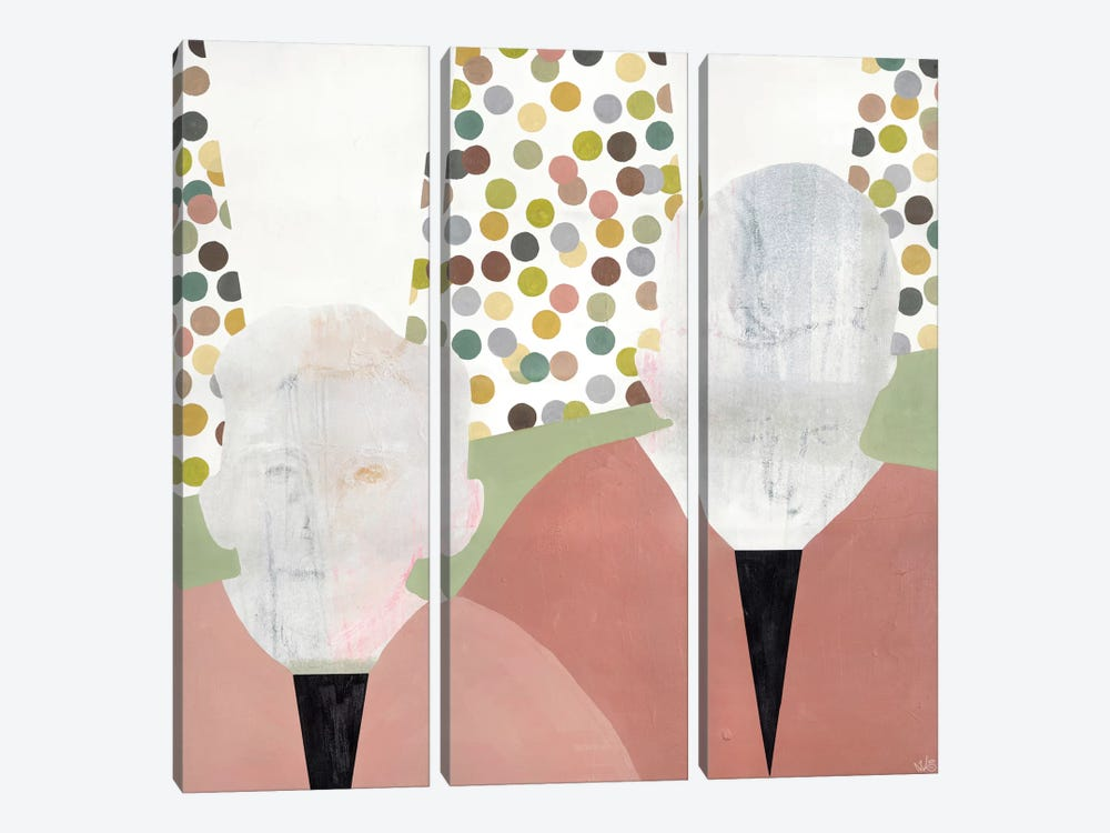 Twins by Nicolai Kubel Olesen 3-piece Canvas Print