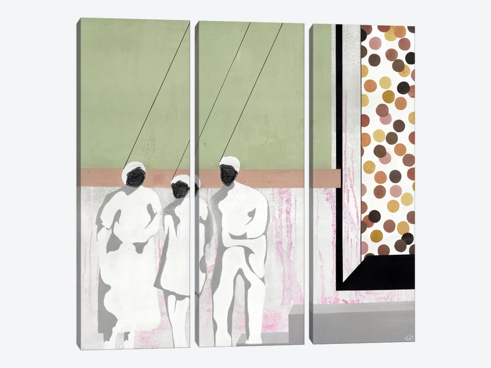 I'm Hung Up by Nicolai Kubel Olesen 3-piece Canvas Art