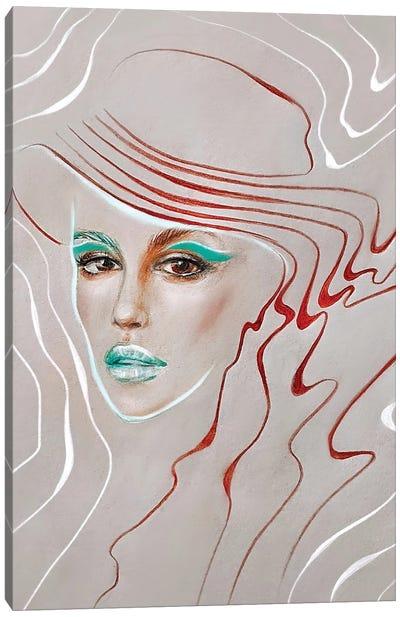 Kaya Gerber Canvas Art Print
