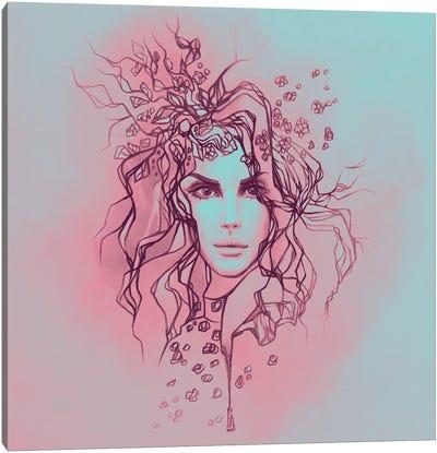 Lana Del Rey Duochrome Canvas Art Print