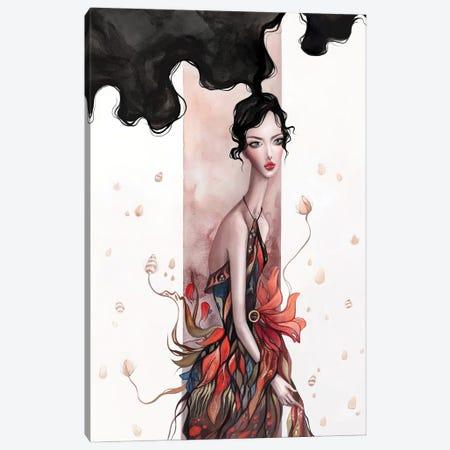 Surreal Floral Art Canvas Print #NKS23} by Kasionatta Canvas Art