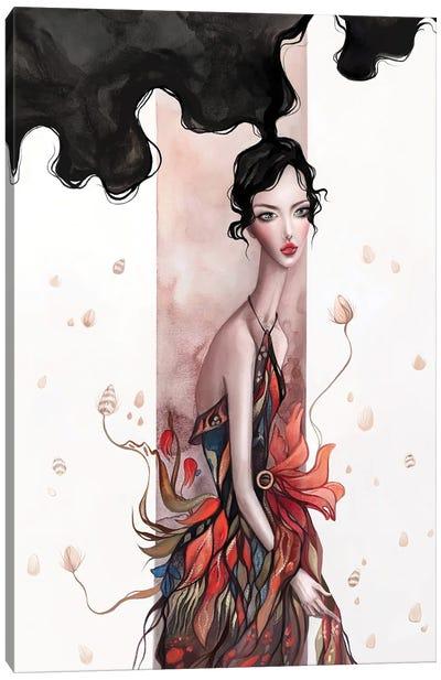 Surreal Floral Art Canvas Art Print
