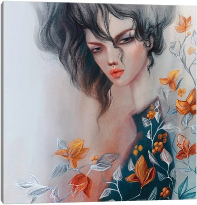 Botanic Dior Canvas Art Print
