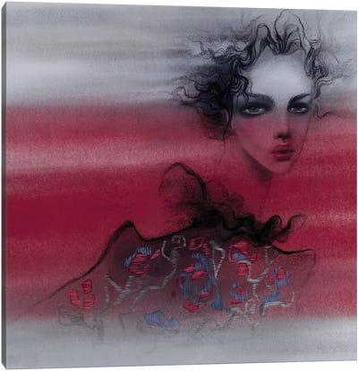 Glance Canvas Art Print