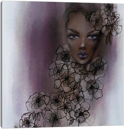 Haze And Line Canvas Art Print