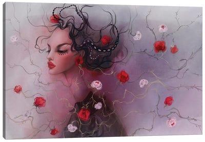 Weave Of Flower Canvas Art Print
