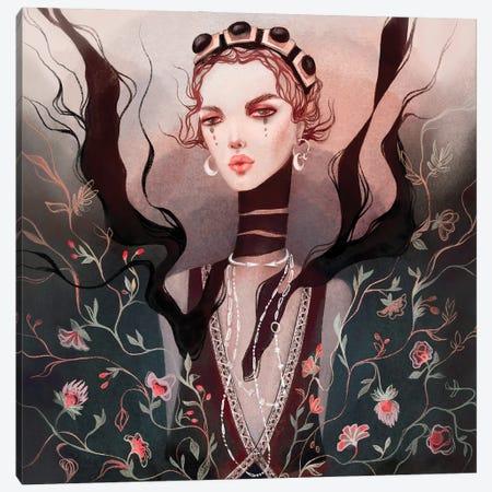 Blossom Etro Canvas Print #NKS4} by Kasionatta Canvas Wall Art