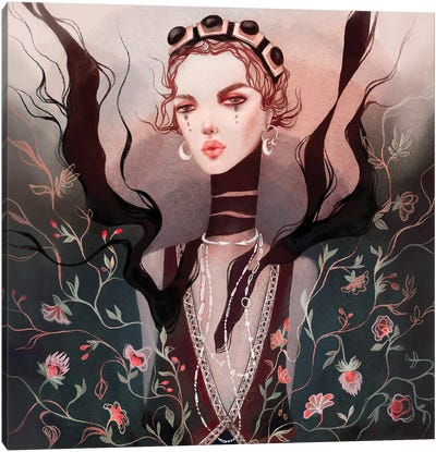 Blossom Etro Canvas Art Print