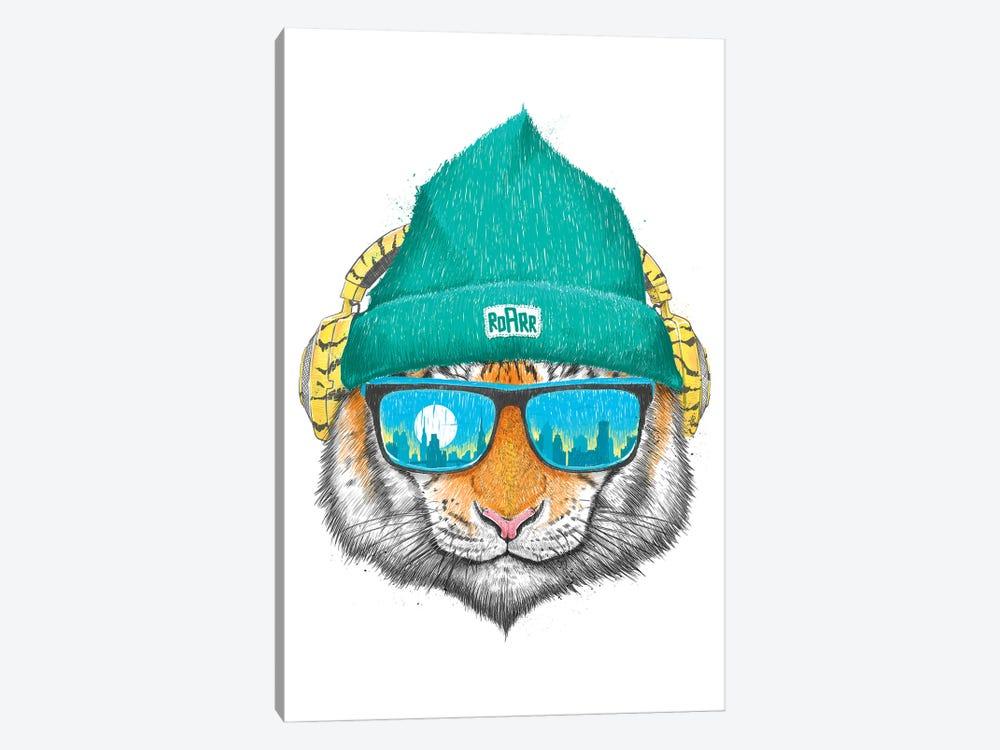 City Tiger by Nikita Korenkov 1-piece Canvas Print