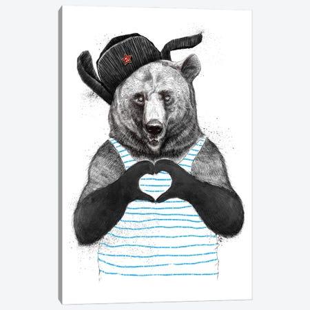 From Russia With Love Canvas Print #NKV32} by Nikita Korenkov Canvas Art