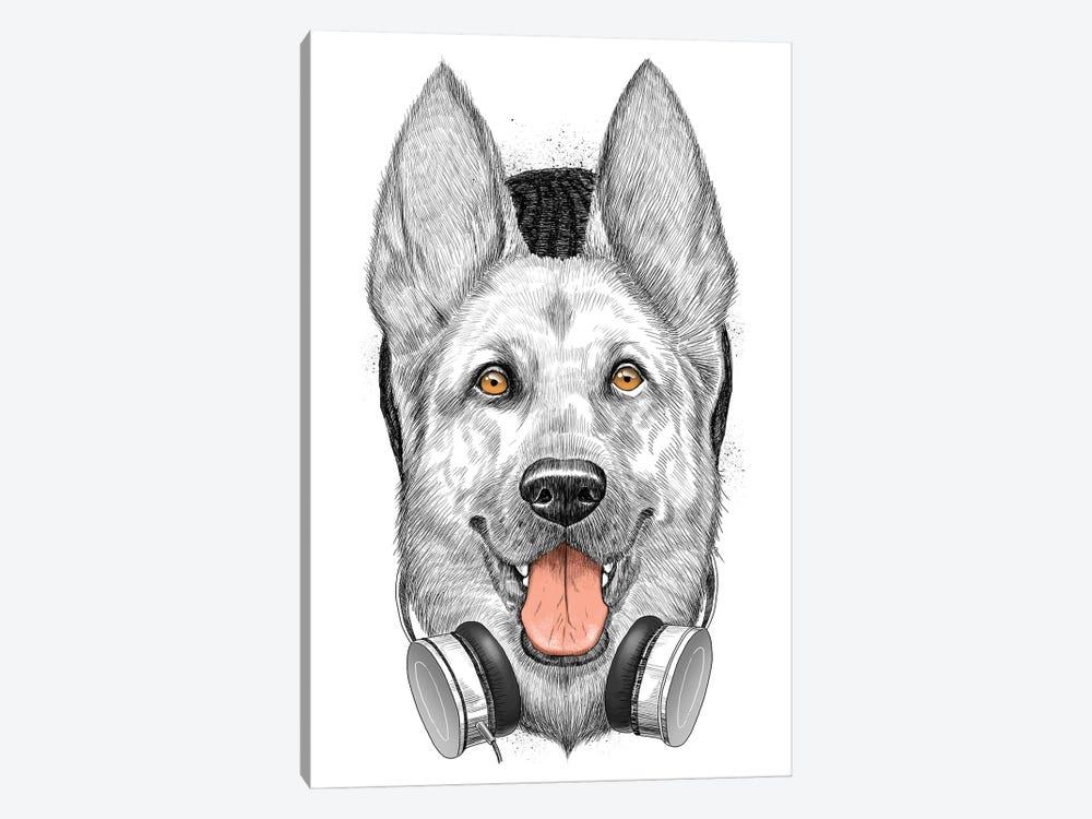 German Shepherd Dog by Nikita Korenkov 1-piece Canvas Print