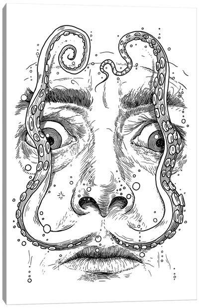 Octopus Dali Canvas Art Print