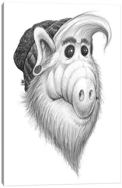 Alf Canvas Art Print