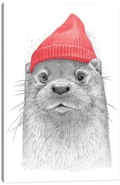 Sea Otter Canvas Art Print