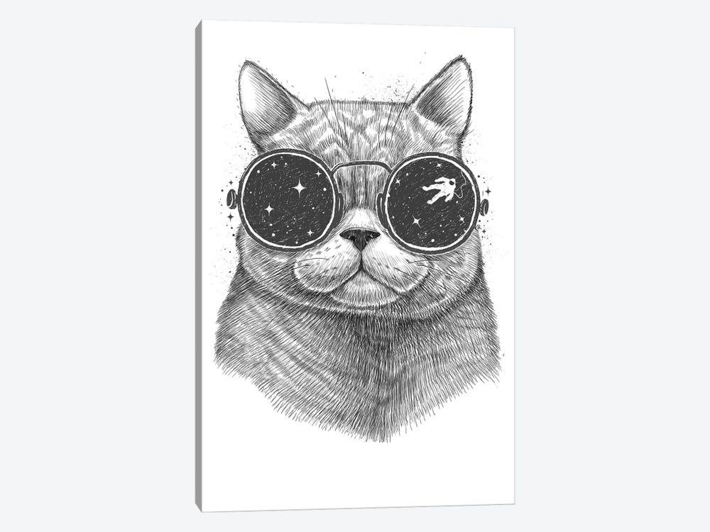 Space Cat by Nikita Korenkov 1-piece Canvas Art