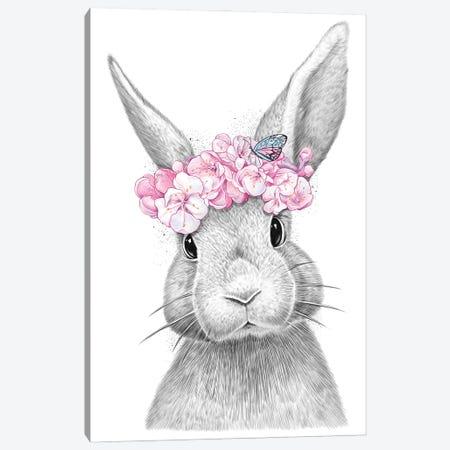 Rabbit Canvas Print #NKV66} by Nikita Korenkov Canvas Wall Art