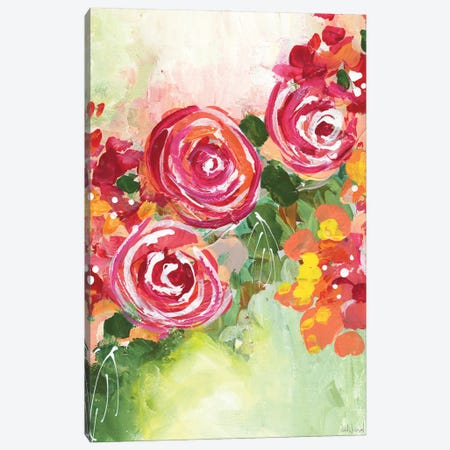 Growing Joy Canvas Print #NKW12} by Nikol Wikman Art Print