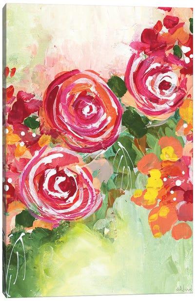 Growing Joy Canvas Art Print