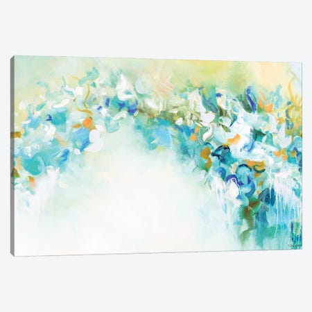 Heavenly Trellis Canvas Print #NKW14} by Nikol Wikman Canvas Artwork