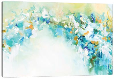 Heavenly Trellis Canvas Art Print