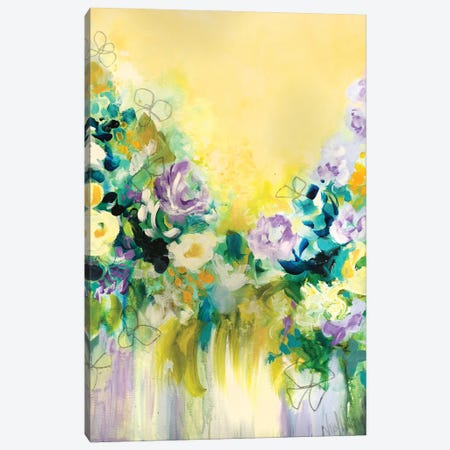 A Story of Flowers Canvas Print #NKW1} by Nikol Wikman Canvas Art Print
